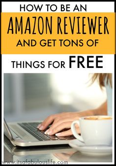 How To Be an Amazon Reviewer & Get Tons of Things Free ... I just started doing this a few weeks ago and I've already gotten 6 or 7 things in the mail!  Awesome!!!