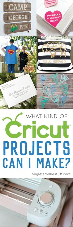 If you\'re new to the Cricut Explore, you might be wondering what kind of Cricut Explore projects are possible. Today I\'m sharing a bunch of different projects you can make on this amazing electronic cutting machine! AD