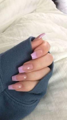 Long Square Acrylic Nails, Acrylic Nails Coffin Short, Cute Acrylic Nails, Nail Design Glitter, Nail Design Spring, May Nails, Hair And Nails, Henna Nails, Acylic Nails