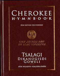 Cherokee Hymnbook, found in the Museum of the Cherokee here in Cherokee, NC.