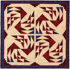 Northwind ~ would also make a beautiful full size quilt...<3