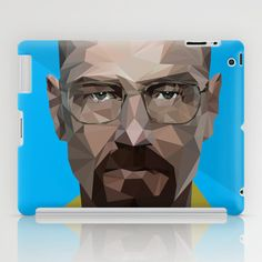 Im the one who knocks - Breaking Bad iPad Case by Guillermo Carvajal - $60.00
