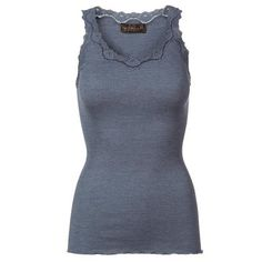 ROSEMUNDE TOP - 5368 BLUE FLINT MELANGE