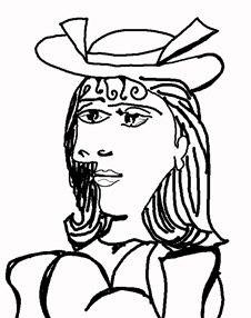 Picasso - colorear