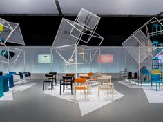 Designed by Turin-based firm Migliore+Servetto Architects, Pedrali's fanciful standfor the 53rd edition of Salone Internazionale del Mobile – dubbed Flying Boxes – was selected for the ADI Design Index 2015 andis currently in the runningfor the Compasso d'Oro 2016.A video depicting 'Flying Boxes' willdisplay at the ADI Design Index 2015 exhibition, which will be staged in Milan's ADI for EXPO space from 5–9 October 2015and then relocate to Rome's Serra Espositiva dell'Orto botanico…