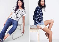 J.Crew to get us in the indigo mood