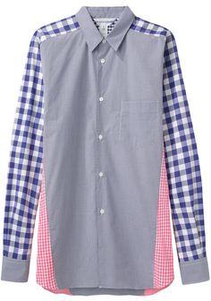 Comme des Garçons Shirt Man / Mixed Check Shirt | La Garçonne