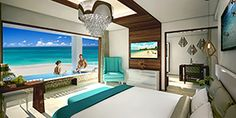 Accommodations at Sandals Royal Barbados - Ocean View Suite