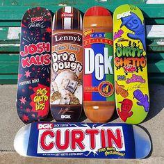 """Convenience store"" skateboard decks serie by DGK 8cef49621b7"