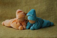 Muñeca Waldorf para bebé / Waldorf mariposa muñeca / / primera