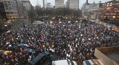 Million Hoodie March in NYC
