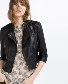 FAUX LEATHER JACKET-Faux Leather-LEATHER-WOMAN | ZARA United States 49