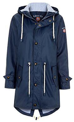93c486173 BAYSIDE - Abrigo impermeable - para mujer azul marino 60