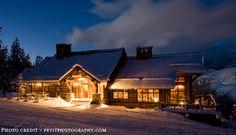 Zachs Cabin, Beaver Creek, CO - open for winter weddings only