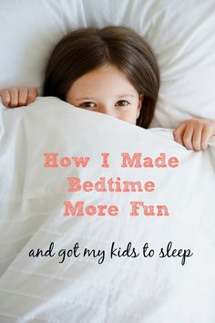 How to use a creative sleep assignment to help your child go to sleep.
