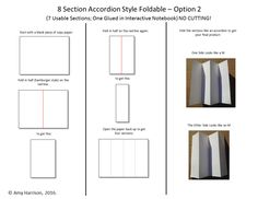 8 Section Accordion Style Foldable