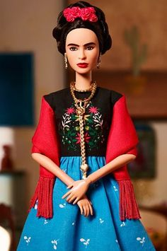 Frida Kahlo Barbie Doll - International Women's Day 2018 (Mattel)