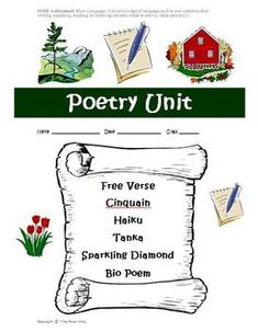 Today is World Poetry Day! Check ou this great poetry unit! $