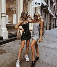 10 Summer Fashion Mistakes to Avoid 10 Summer Fashion Mistakes to Avoid,Party outfit Grab your BFF, get matching dresses and paint the town red. Fashion Mode, Womens Fashion, Fashion Trends, Ladies Fashion, Fashion Ideas, Fashion 2018, Style Fashion, 90s Fashion, Tumblr Fashion