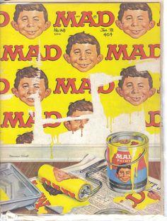 Mad Magazine No.148 January 1972