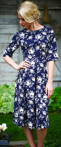 Ellen Dress [MDF4101] - $49.99 : Mikarose Boutique, Reinventing Modesty