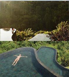 Pool with 2 views