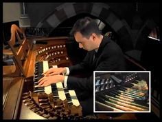 Widor: Allegro from Symphony No. performed by Christopher Houlihan Organ Music, Recital, Pipes, Concerts