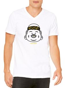 Gold Tooth Buddha - Gents V Neck Relaxed