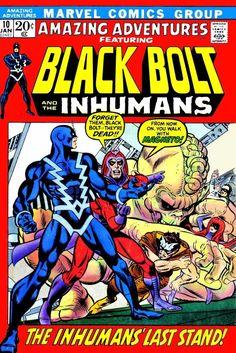 Amazing Adventures #10 (Jan '72) cover by Gil Kane & Joe Sinnott.
