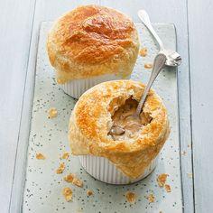 Pasteitjes met champignons - Leuke recepten