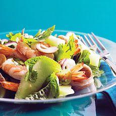 Vietnamese Shrimp and Green Melon Salad Recipe