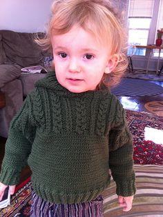 Ravelry: Hoodie pattern by Debbie Bliss Baby Boy Knitting, Knitting For Kids, Baby Knitting Patterns, Baby Patterns, Baby Knits, Knitted Baby, Knit Baby Sweaters, Pullover Sweaters, Hoodie Pattern