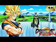 DRAGON BALL FIGHTER Z GOKU SAIYAN 3 WINS CELL