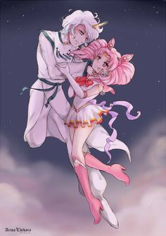 Dance with me by arisa-chibara.deviantart.com on @DeviantArt Helios and Mini Moon