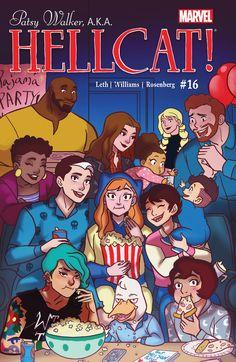 / Boom) Head Lopper 5 - Andrew MacLean (Image) Patsy Walker, A. 16 - Brittney Williams (Marvel) The Kamandi Challenge X Men, Comic Book Covers, Comic Books, Comic Art, Hulk, Captain America, Thor, Defenders Marvel, Supernatural