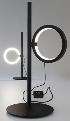 Led table lamp, Neil Poulton