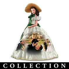 "I have this one!!!  ""Gone With The Wind"" Porcelain Figurine Collection"