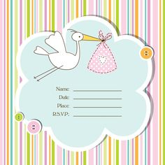 Baby Shower Card Printable For Free
