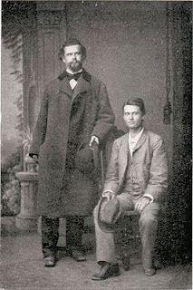 King Ludwig II of Bavaria (1845-1886) and Josef Kainz