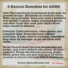 ADHD Natural Remedies