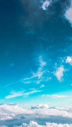 Céu Nuvem Fly Verão Azul 5s ensolarado iPhone papel de parede