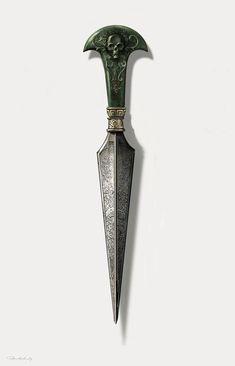 ArtStation - Dagger for Bellatrix, Peter Mckinstry Loki Aesthetic, Slytherin Aesthetic, Knife Aesthetic, Fantasy Dagger, Fantasy Weapons, Bellatrix Lestrange, Swords And Daggers, Knives And Swords, Pretty Knives