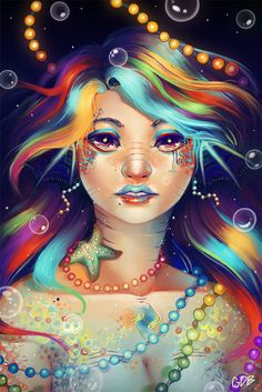 RainbowFish by GDBee on DeviantArt