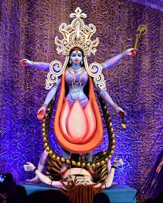 Image may contain: 1 person Maa Kali Images, Durga Images, Shiva Art, Shiva Shakti, Maa Kali Photo, Maa Durga Image, Durga Ji, Kali Hindu, Baby Ganesha