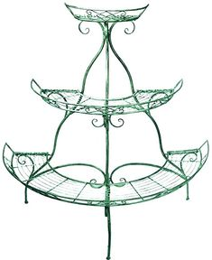 Elevated Planter Box, Planter Boxes, Shabby Chic Garden, Flower Stands, Raised Garden Beds, Lawn And Garden, Wrought Iron, Mint Green, The Hamptons