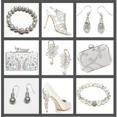 The jewels are made by me! Jeweled Shoes, Collage, Jewels, Shoe Bag, Polyvore, Silver, Handmade, Stuff To Buy, Accessories