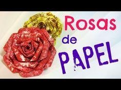 Cómo hacer rosas de papel para decorar http://ini.es/YSpOBH #DIY, #RosasDePapel