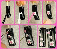 Flower nail tutorial