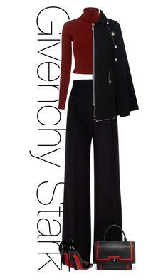 Untitled #487 by rania68 on Polyvore featuring polyvore мода style A.L.C. See by Chloé MaxMara Christian Louboutin Givenchy fashion clothing