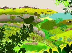 sentier de randonnée fléché dans les vallons intérieurs de Belle-Ile-en-Mer, avec le CPIE de belle-Ile http://www.monique-solidaire.fr/cpie-belle-ile.html